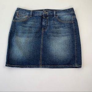Tommy Hilfiger Mini Jean Skirt Size 6